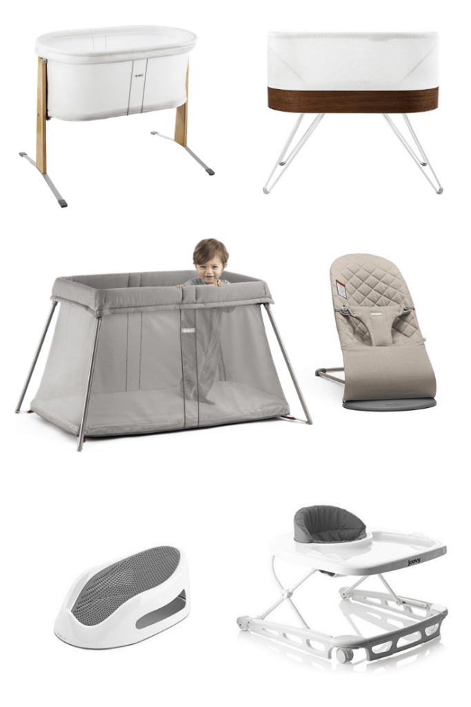 Modern neutral baby gear - Add these modern and neutral baby products, including gear, toys, and feeding must haves, to your registry for a stylish nursery and a baby friendly home that won't drive you insane. #modernnursery #baby #babygear #modern #neutral #babyregistry #newmom #modernbaby #whattoexpect #babythings #babyproducts