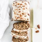 healthy hummingbird cake banana bread