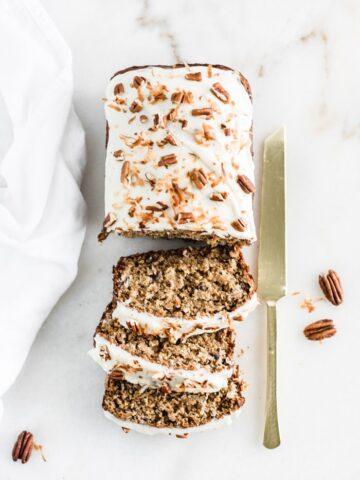 healthy hummingbird cake banana bread
