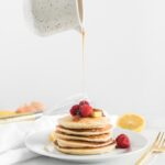 healthy lemon ricotta pancakes