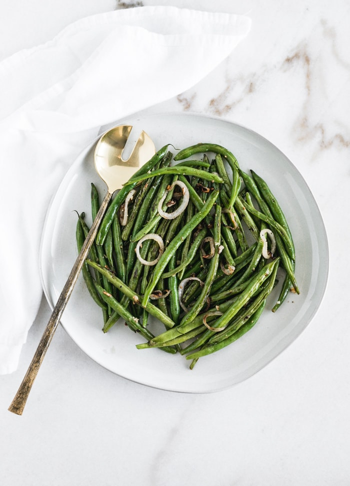 simple sauteed green beans