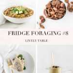 pinterest collage image for fridge foraging 8