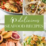 coolage image of healthy seafood recipes.
